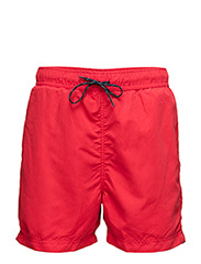 SLHCLASSIC COLOUR SWIMSHORTS W - TRUE RED