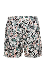 SHHSUNSET SWIMSHORTS - MAHOGANY ROSE