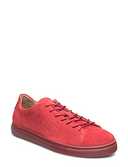 SHXDYLAN WORLD COLOR SNEAKER - RED DAHLIA