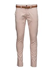SHHYARD MAHOGANY ROSE SLIM ST PANTS - MAHOGANY ROSE