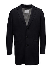 SHDRAW COAT - DARK NAVY