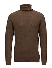 SHDFELTON ROLL NECK - CAMEL