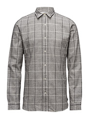 SHHTWOAXEL SHIRT LS - LIGHT GREY MELANGE