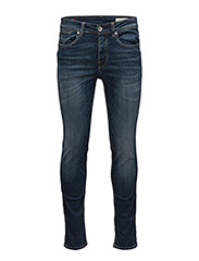 SHNONEFABIOS 1413 MID.BLUE ST JEANS NOOS - MEDIUM BLUE DENIM