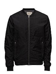 SHNNEWLIGHT BOMBER JACKET - BLACK
