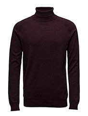 SHDADAM ROLL NECK - FUDGE