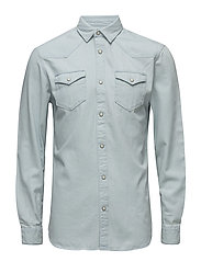 SHNONECHAD SHIRT LS - LIGHT BLUE DENIM