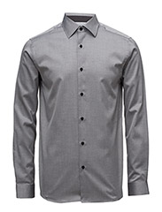 SHXTWO-PENKINGSTON SHIRT LS - LIGHT GREY MELANGE