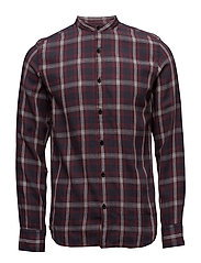 SHNONEFLANNEL SHIRT LS - RED DAHLIA