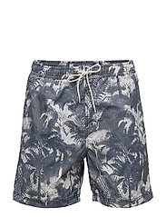 SHHMAX SWIMSHORTS - OMBRE BLUE