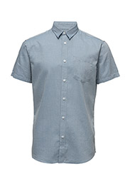 SHDONECLIVE SHIRT SS - LIGHT BLUE