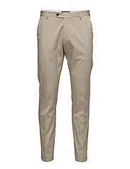 ABONE-COTTON SAND TROUSERS - SAND