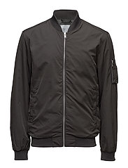 SHXRESCUE BOMBER JACKET - PIRATE BLACK