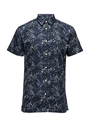 SHHTWOMAX SHIRT SS - OMBRE BLUE