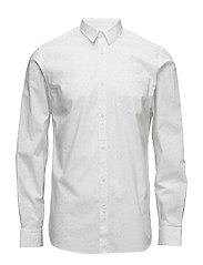 SHDTWOBEN SHIRT LS - BRIGHT WHITE