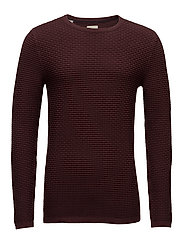 SHHNEWDEAN CREW NECK NOOS - DECADENT CHOCOLATE
