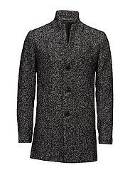 SHDFREE WOOL COAT - BLACK