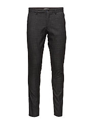 SHDSKINNY-MATH GREY SQUARE TROUSER - GREY