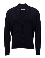 SHDED CARDIGAN - PEACOAT