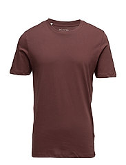 SHDTHEPERFECT SS O-NECK TEE - DECADENT CHOCOLATE