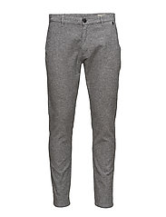 SHHARVAL SALT/PEPPER SLIM ST PANTS STS - GREY