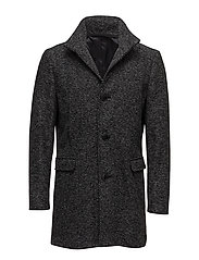 SHDMOSTO WOOL COAT STS - BLACK