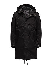 SHNCLASH PARKA STS - BLACK