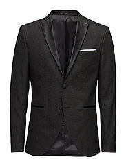 Shdone-Tux Peak2 Grey Blazer Selected Homme Suits & Blazers