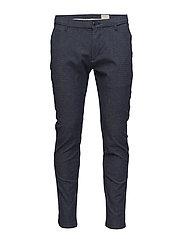 SHHARVAL GREYBLUE MIX SLIM ST PANTS NOOS - GREY