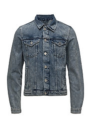 SHXJEFFREY LIGHT BLUE DENIM JACKET - LIGHT BLUE