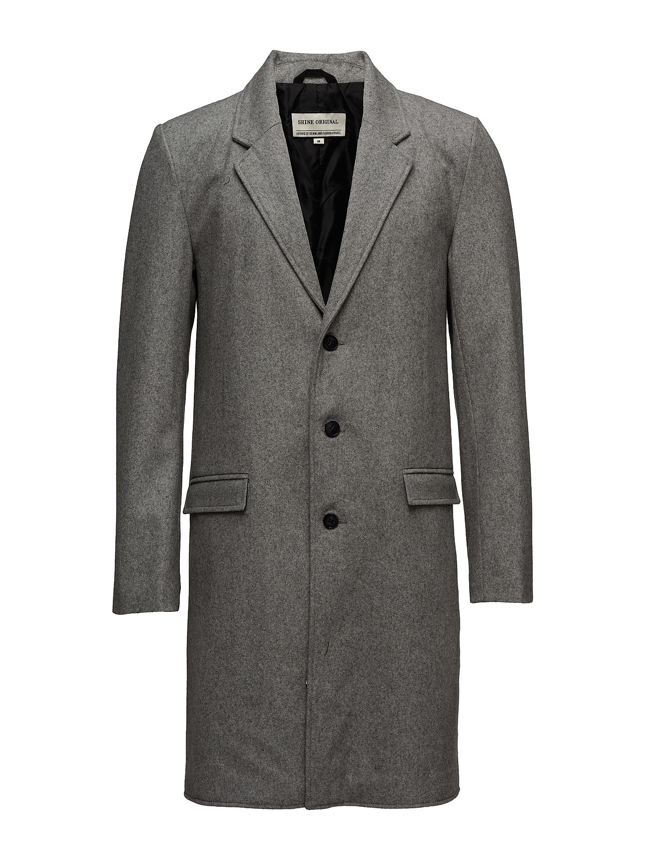 Woolcoat Shine Original Frakker til Herrer i Lt Grey Mel