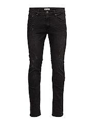 Slim fit jeans - danger black - DANGER BLK