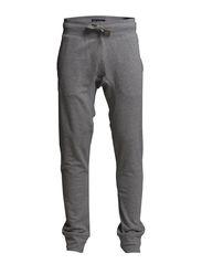 Solid sweat pants - GREY MEL