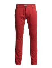 Mens chinos - WARM CORAL