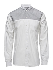 BlackrebelbaseballshirtL/S - WHITE