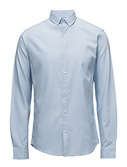 OxfordcottonshirtL/S - LIGHT BLUE