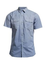 Faded shirt S/S - FADED BLUE