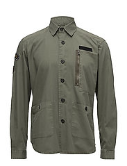 Military over shirt with badges - ARMY