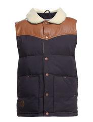 Lumberjack waistcoat - NAVY