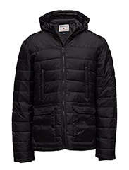 Longribstopjacket - BLACK