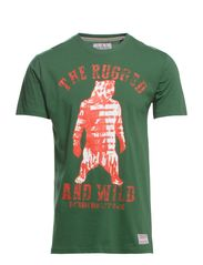 Rugged and wild tee s/s - DK FOREST