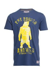 Rugged and wild tee s/s - WHALE BLUE