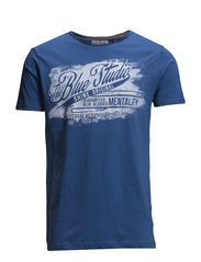 Blue studio tee S/S - VALIANT BLUE