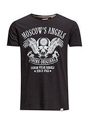 MoscowsangelsprintteeS/S - BLACK