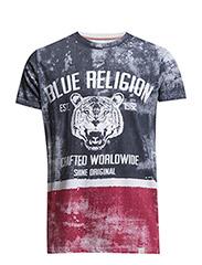 BluereligionprintteeS/S - NAVY