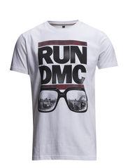 Run dmc tee S/S - WHITE