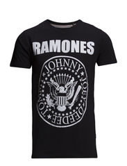 Ramones tee S/S - BLACK