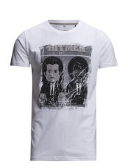 Pulp fiction tee S/S - WHITE