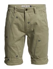 Embroidery shorts - SAND