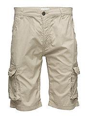 Long cargo shorts - SAND